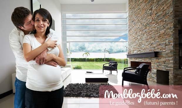 Blog grossesse : partage de photos privé avec famille & amis