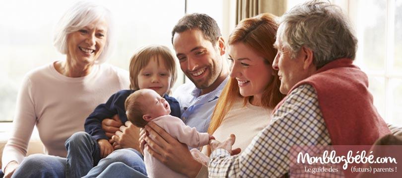 Pour partager vos souvenirs de grossesse et l'évolution de son bébé en toute sécurité avec ses proches