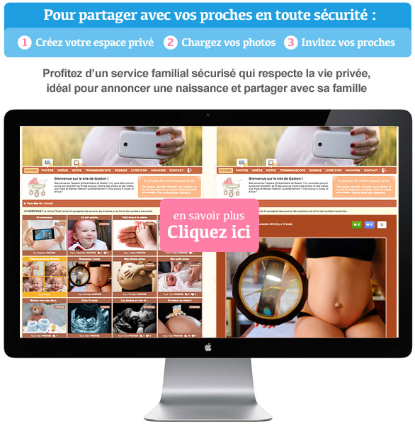 Créez votre blog bébé 100% privé et partagez vos photos et vidéos en toute sécurité avec vos proches