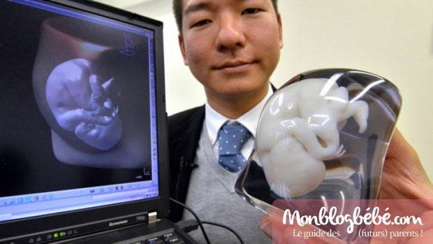 Cadeau de naissance original : le pendentif foetus made in Japan