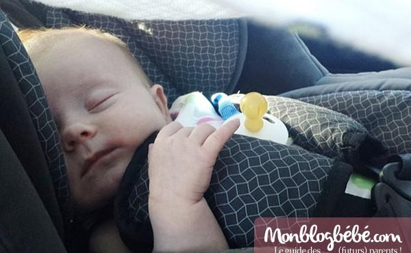 Siège auto et bébé en voiture : la sécurité avant tout !