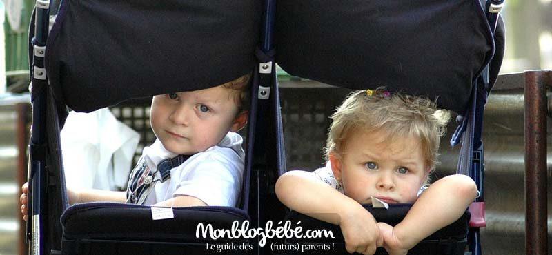 Quel modèle de poussette choisir pour nos jumeaux ?